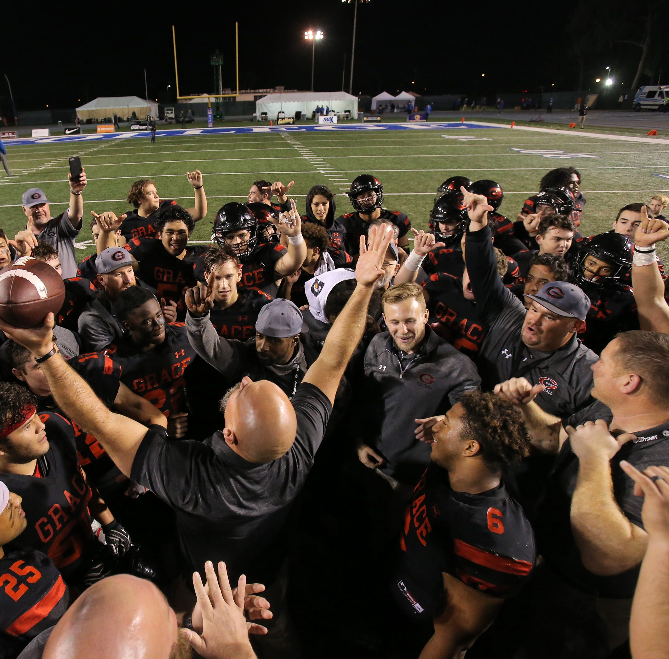 Grace Brethren beats Del Oro in Div. 2AA final to capture its first state football title