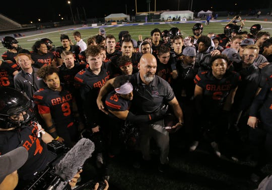 Head coach Josh Henderson's Grace Brethren football could be competing against the likes of Oaks Christian, Calabasas and Westlake two seasons from now.
