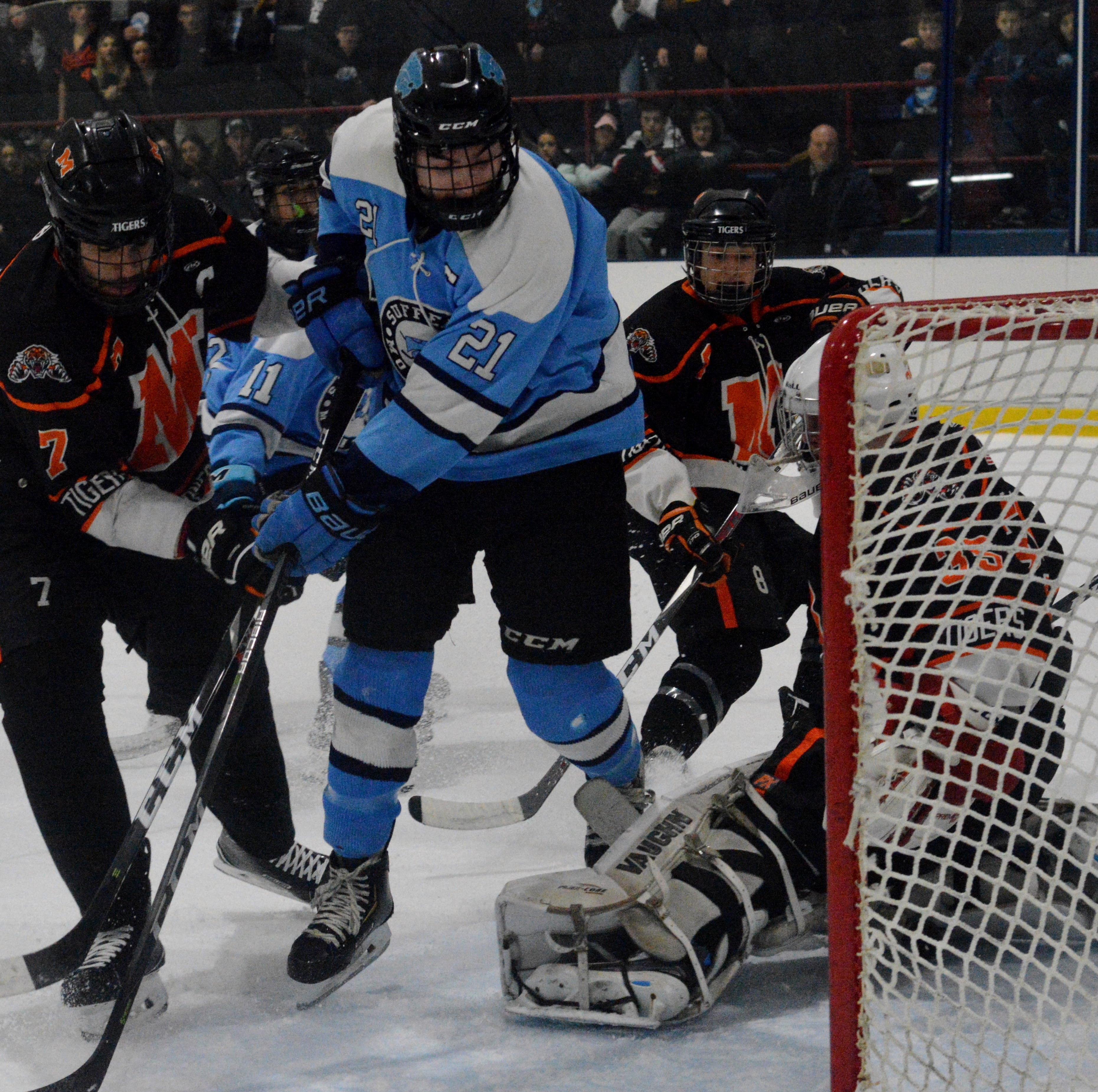 Hockey: Suffern isn't entirely pleased with a win over Mamaroneck
