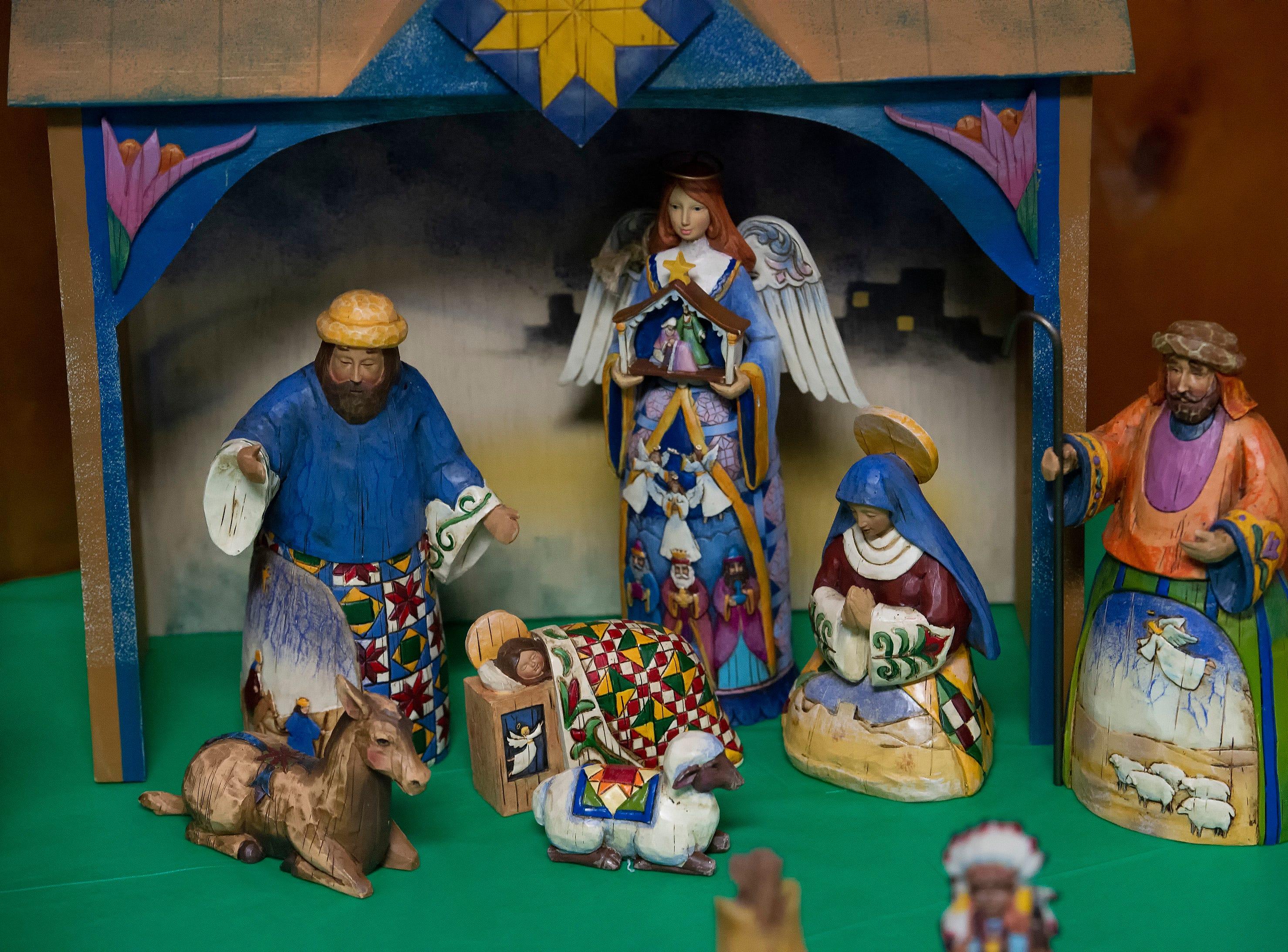 100 Nativities on display at Christiana Presbyterian Church.