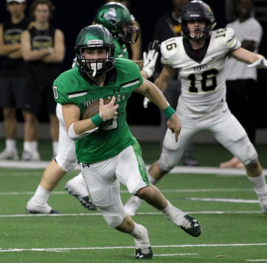 Iowa Park senior Brendin Fallon had a great postseason campaign that earned him a spot on the Red River 22 team.