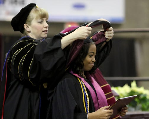 2018 Midwestern State University Fall Commencement