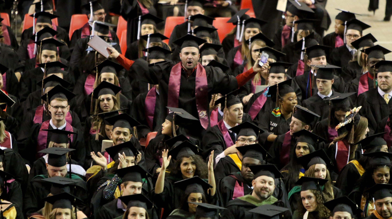 MSU Texas fall graduation