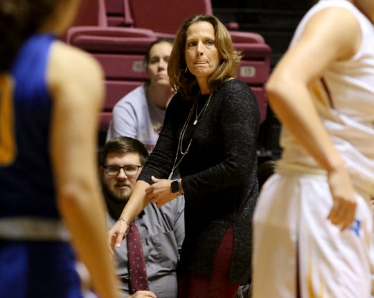 Midwestern State head basketball coach Noel Johnson wants to see her team play with more of a killer mentality in the LSC's second half.