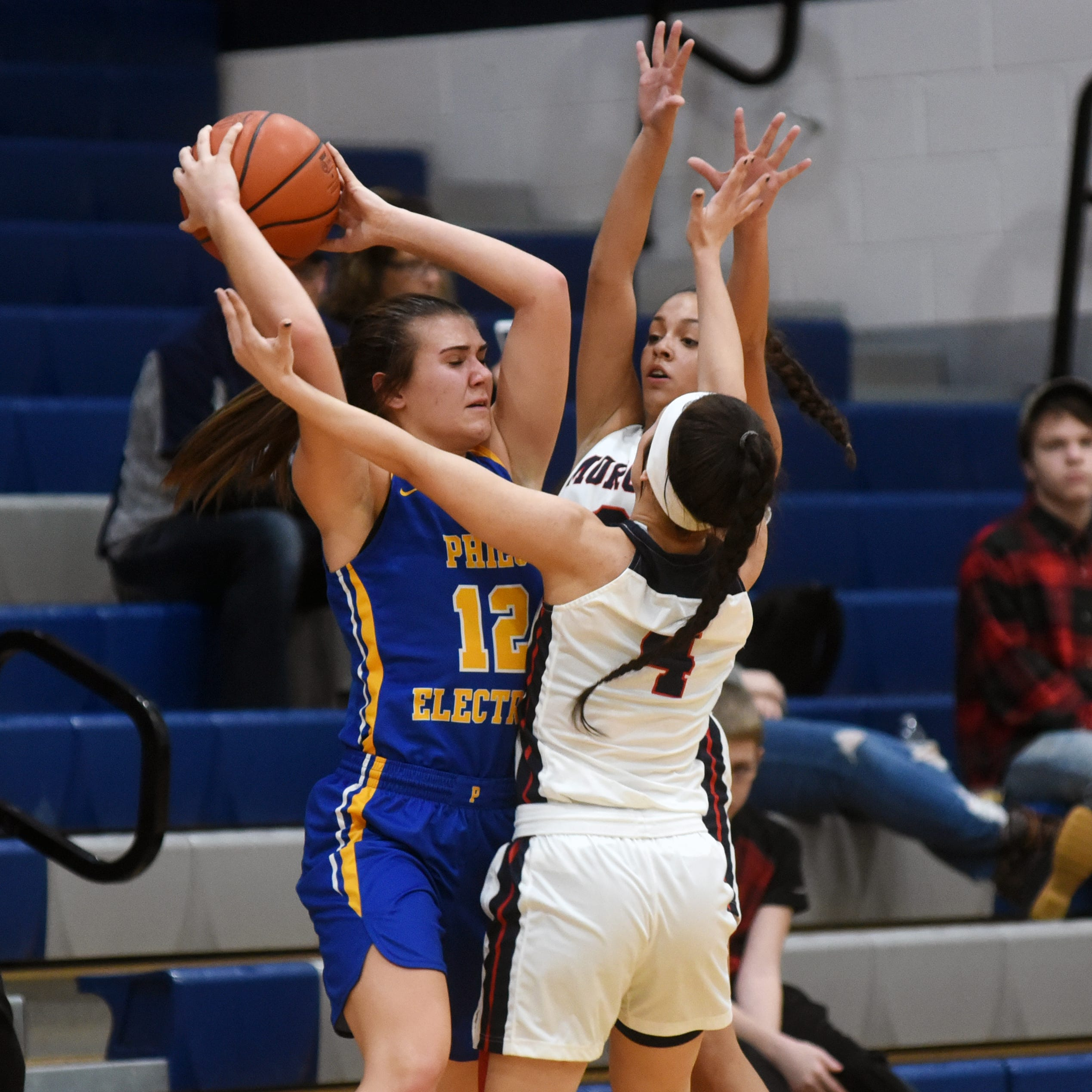 Pressure cooker: Morgan girls swarm Philo