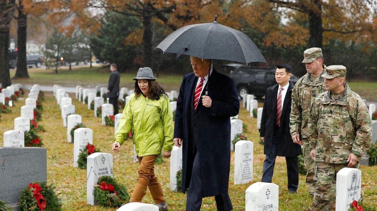 Volunteer Flags At Arlington Cemetery This Year Christmas 2021