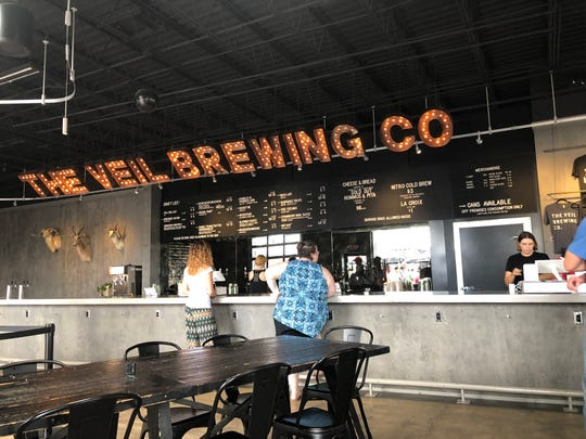 The Veil Brewing Co. in Richmond, Va., which opened in 2016, on Sept. 16, 2018.