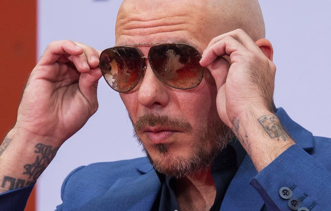 "Armando Christian Perez, aka Pitbull, is getting plenty of reaction for his new ""Aquaman"" song."