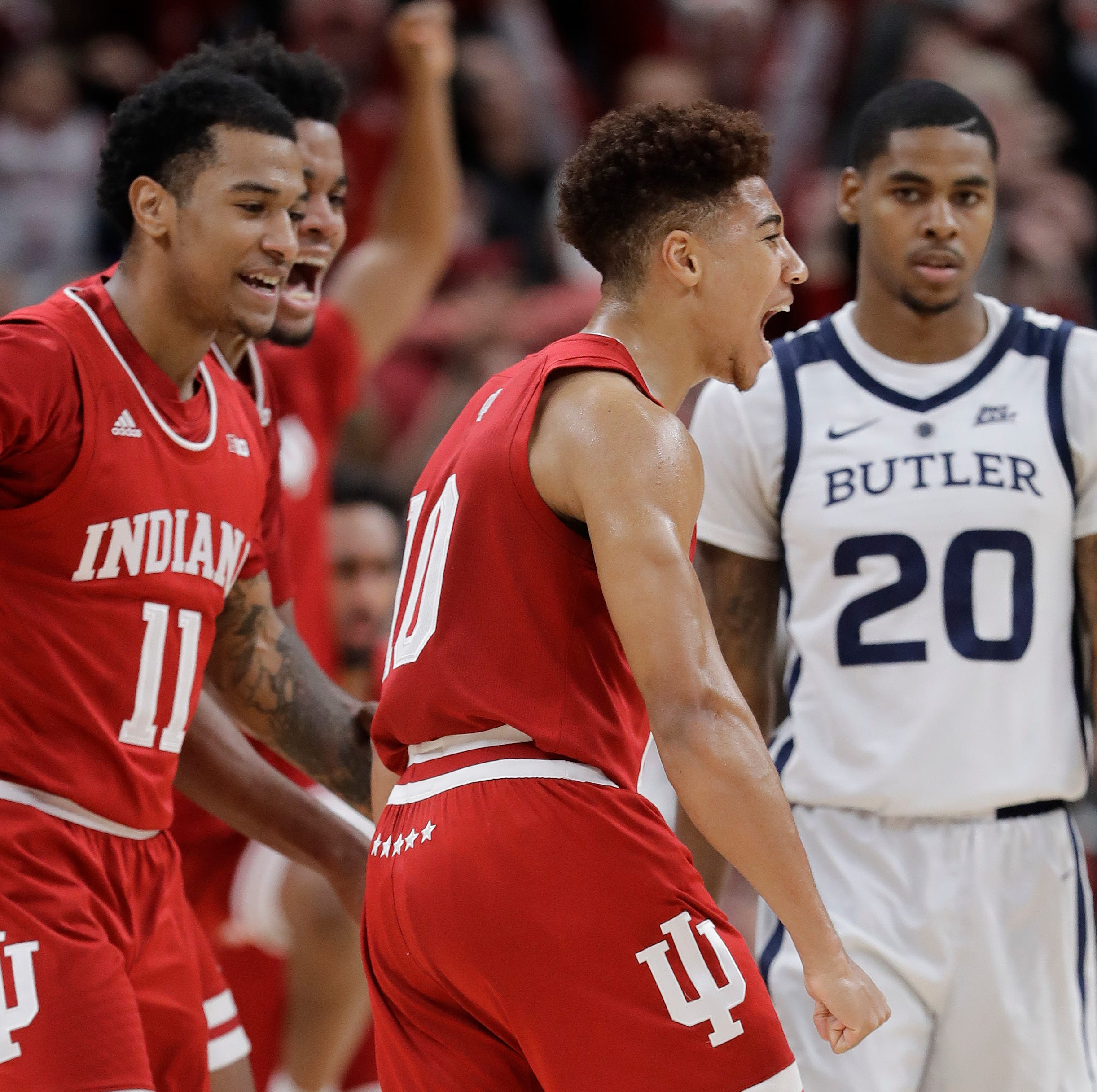 Indiana beats Butler with Rob Phinisee's wild buzzer-beater