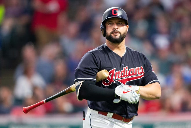 Indians first baseman Yonder Alonso was traded to the White Sox.