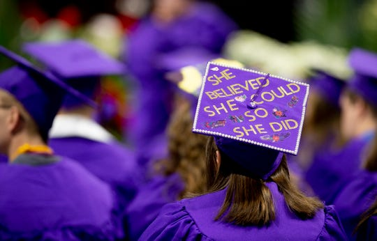 Wcu Commencement Mortar Board Message