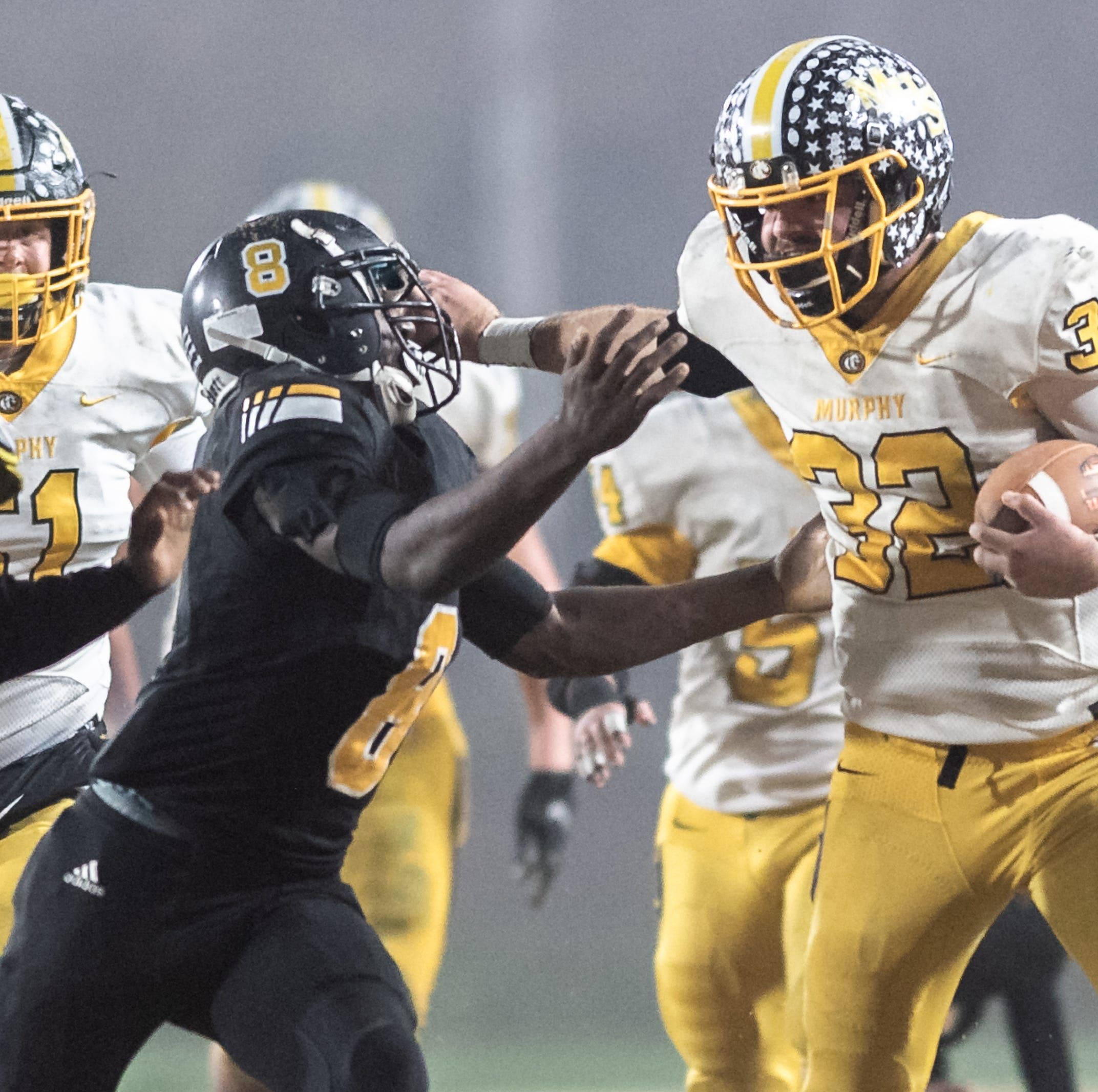 Murphy's Chase Roberts honors teammate with big game