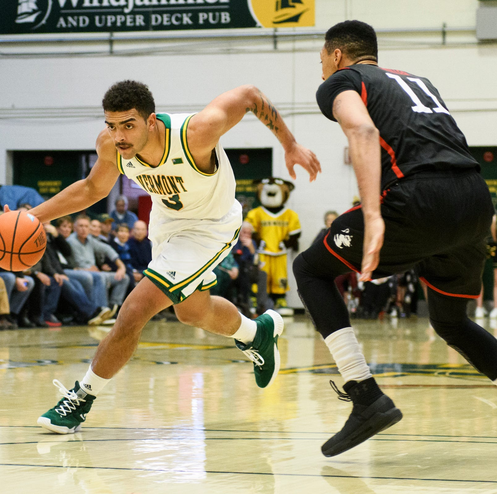 UVM men's basketball solves Northeastern for fifth straight win