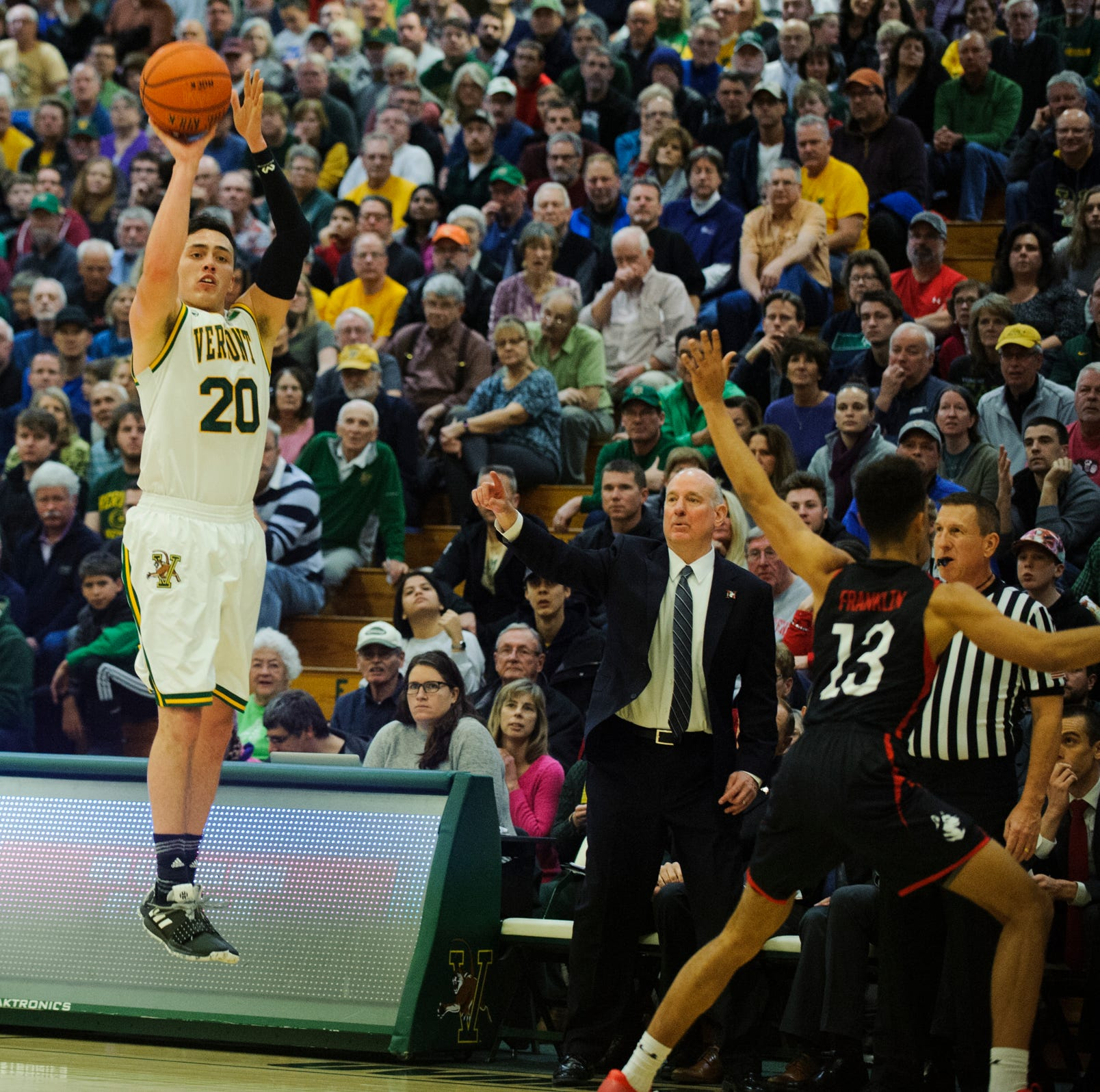 UVM men's basketball: senior guard Ernie Duncan day-to-day with injury