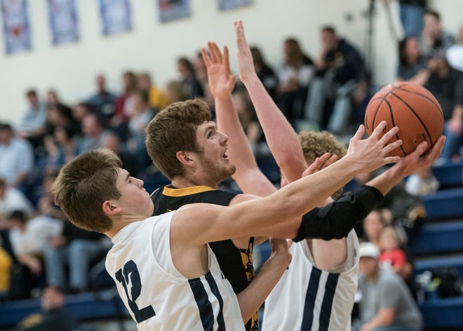 Paint Valley's Cruz McFadden scored 15 points, grabbed nine rebounds, and had five assists against Adena on Saturday.