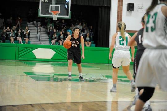 Huntington High School's girls basketball team defeated the Piketon Redstreaks 64-52 at home on Saturday Dec. 15.