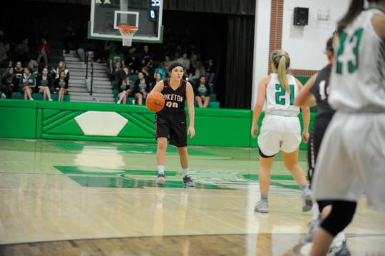Huntington High School's girls basketball team defeated the Piketon Redstreaks 64-52 at home on Saturday Dec. 15.