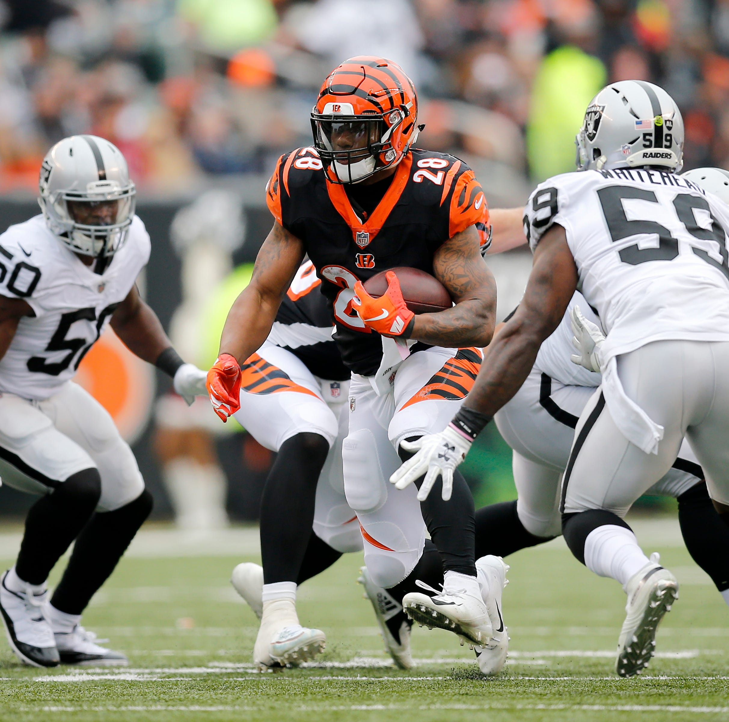 Live updates: Cincinnati Bengals lead Oakland Raiders in fourth quarter