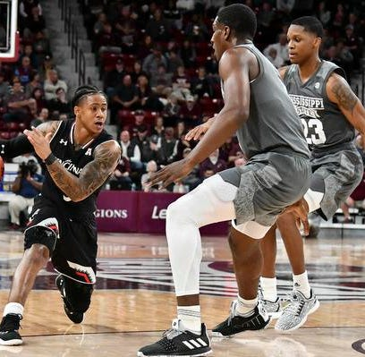 UC falls at Mississippi State on three-pointers