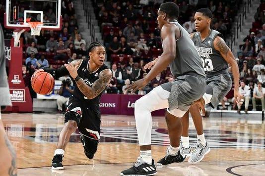 Ncaa Basketball Cincinnati At Mississippi State