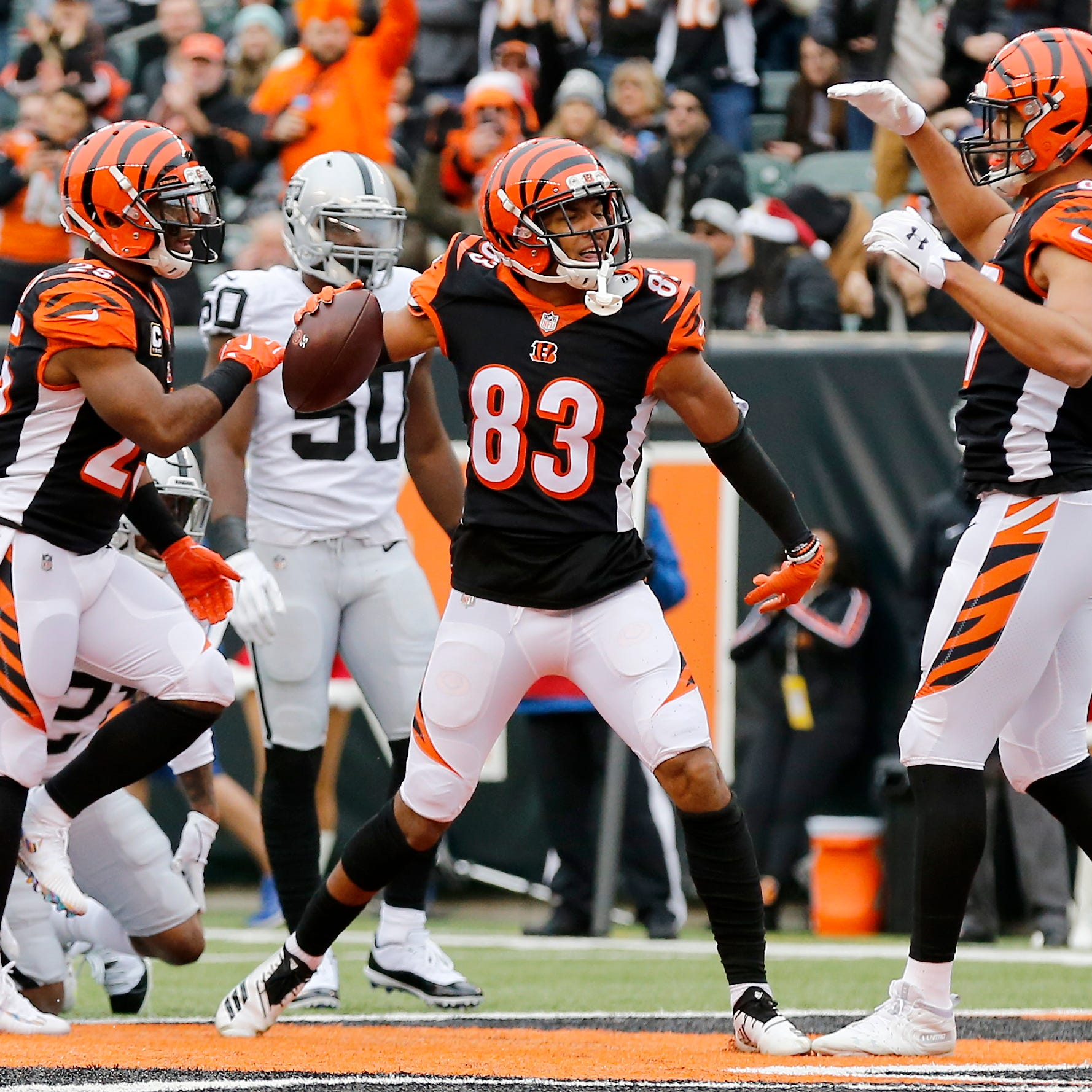 Cincinnati Bengals report: Tyler Boyd injury could be season-ending