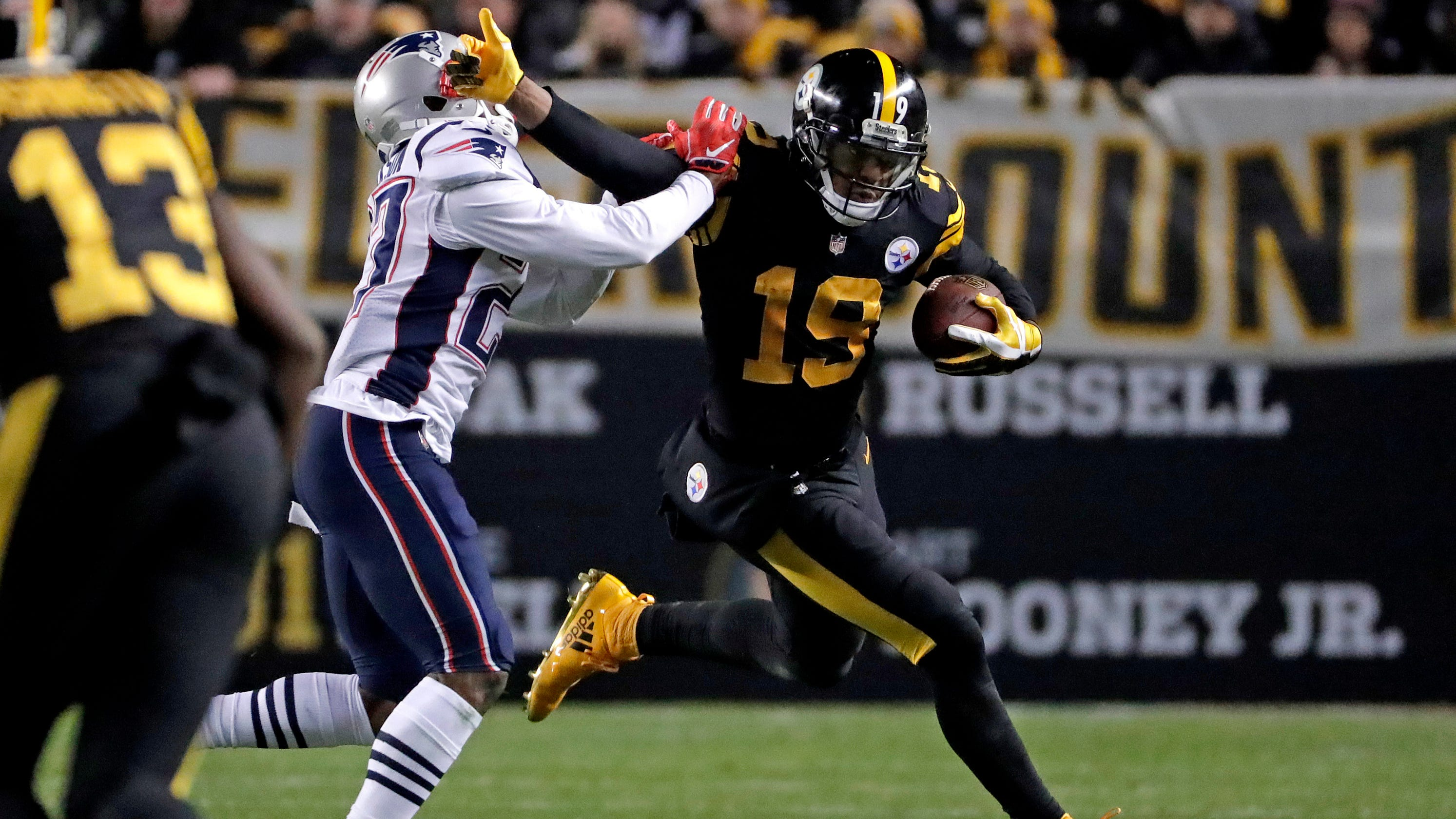289fee87b Pittsburgh Steelers beat New England Patriots for first time since 2011