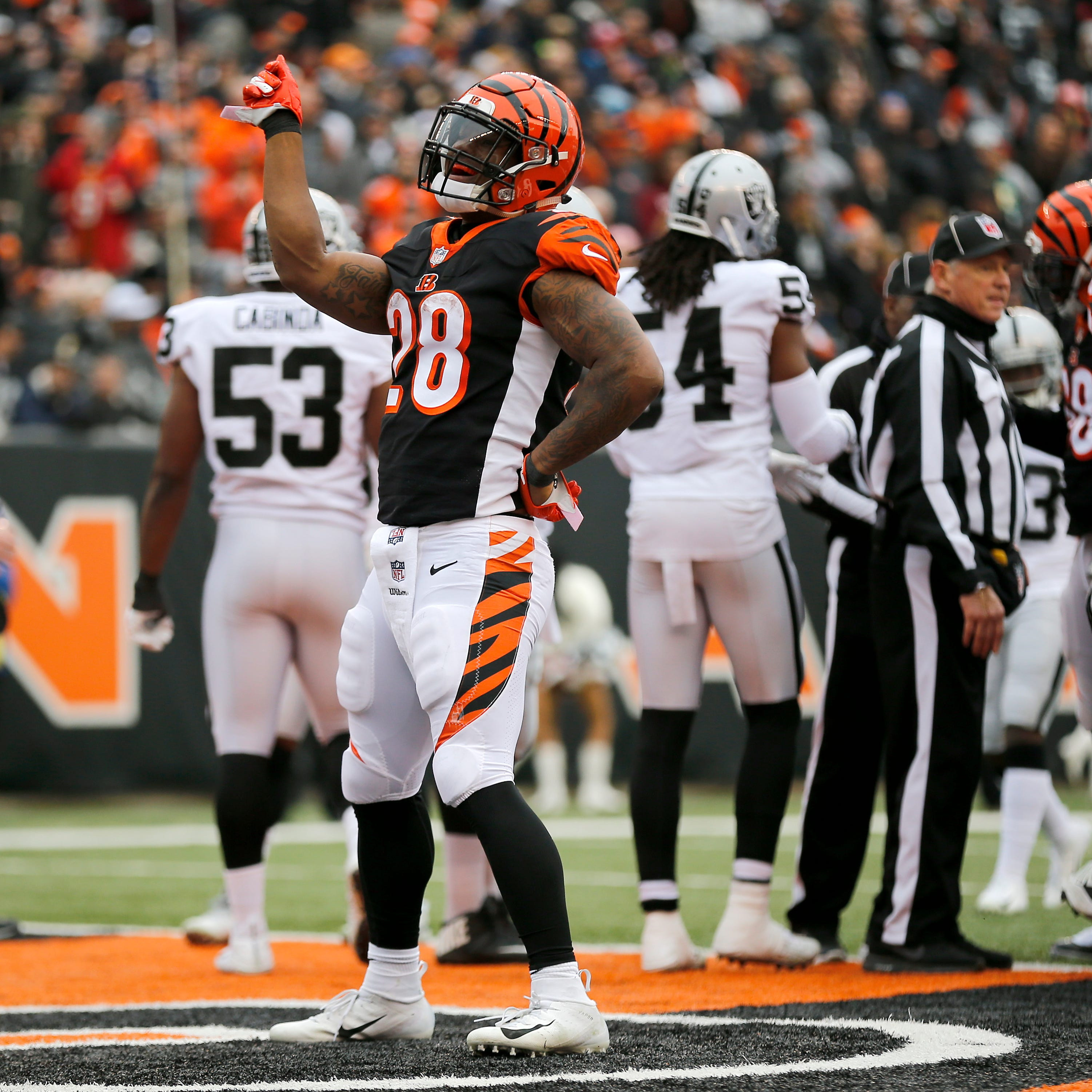 Analysis: Bengals welcome a different feeling