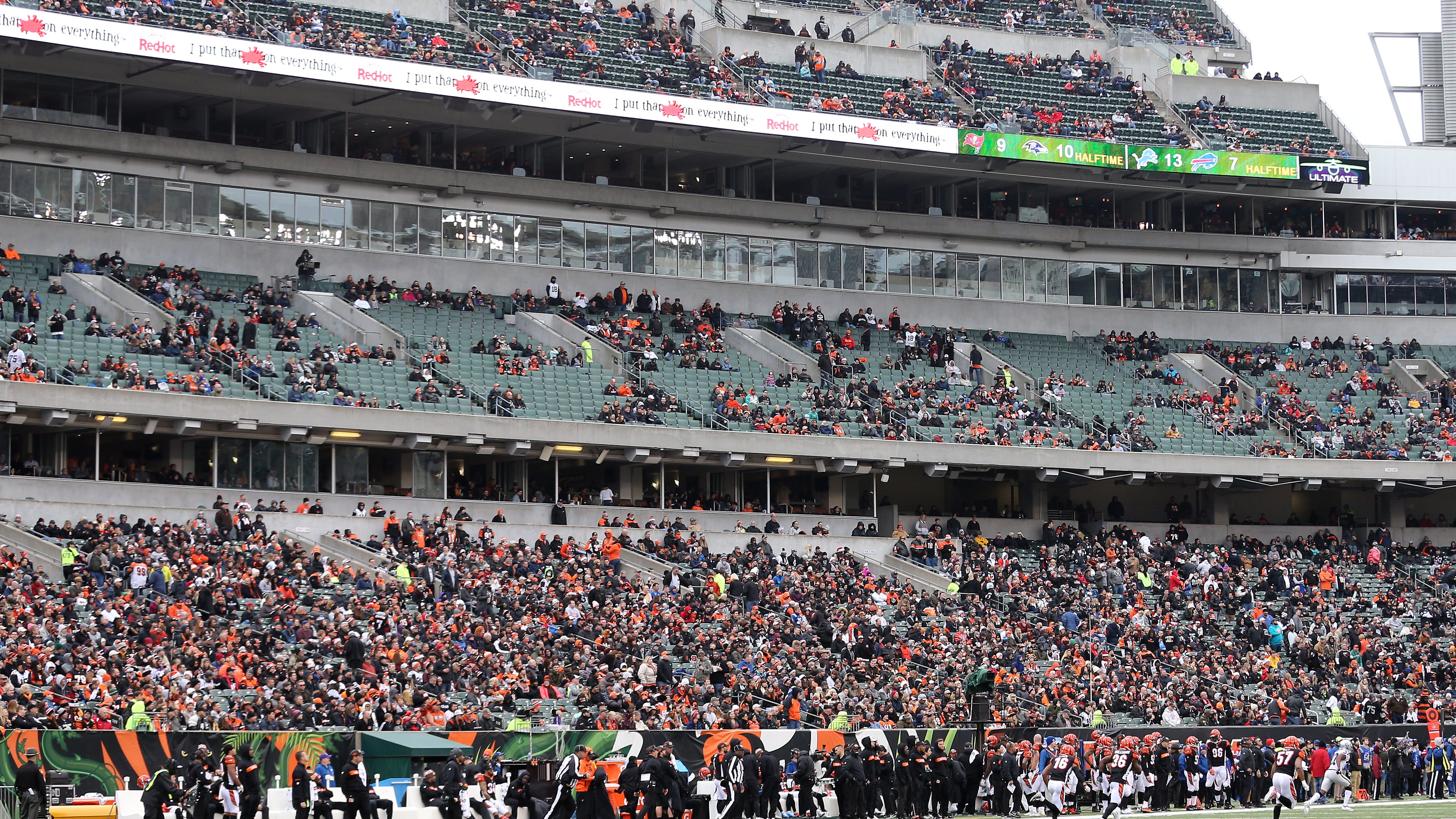 A view of the attendance in the second quarter of...