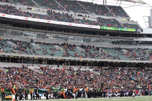 Oakland Raiders At Cincinnati Bengals 12 16 2018