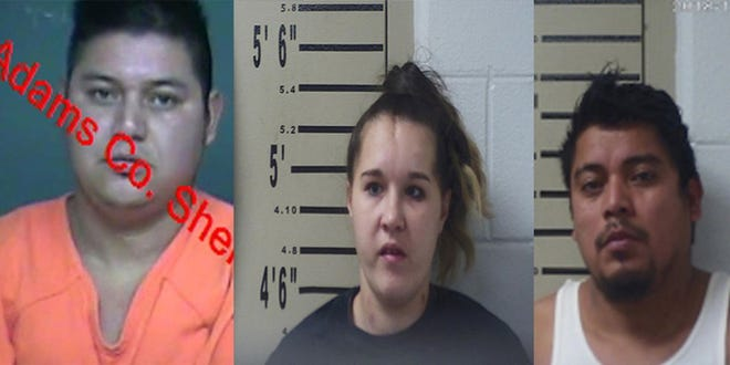 Nelson Ramos, 27; Arica Woodruff, 29; Dagoberto Ramos, 32, were arrested by Kentucky State Police on Dec. 14 in relation to an Augusta, Ky murder.