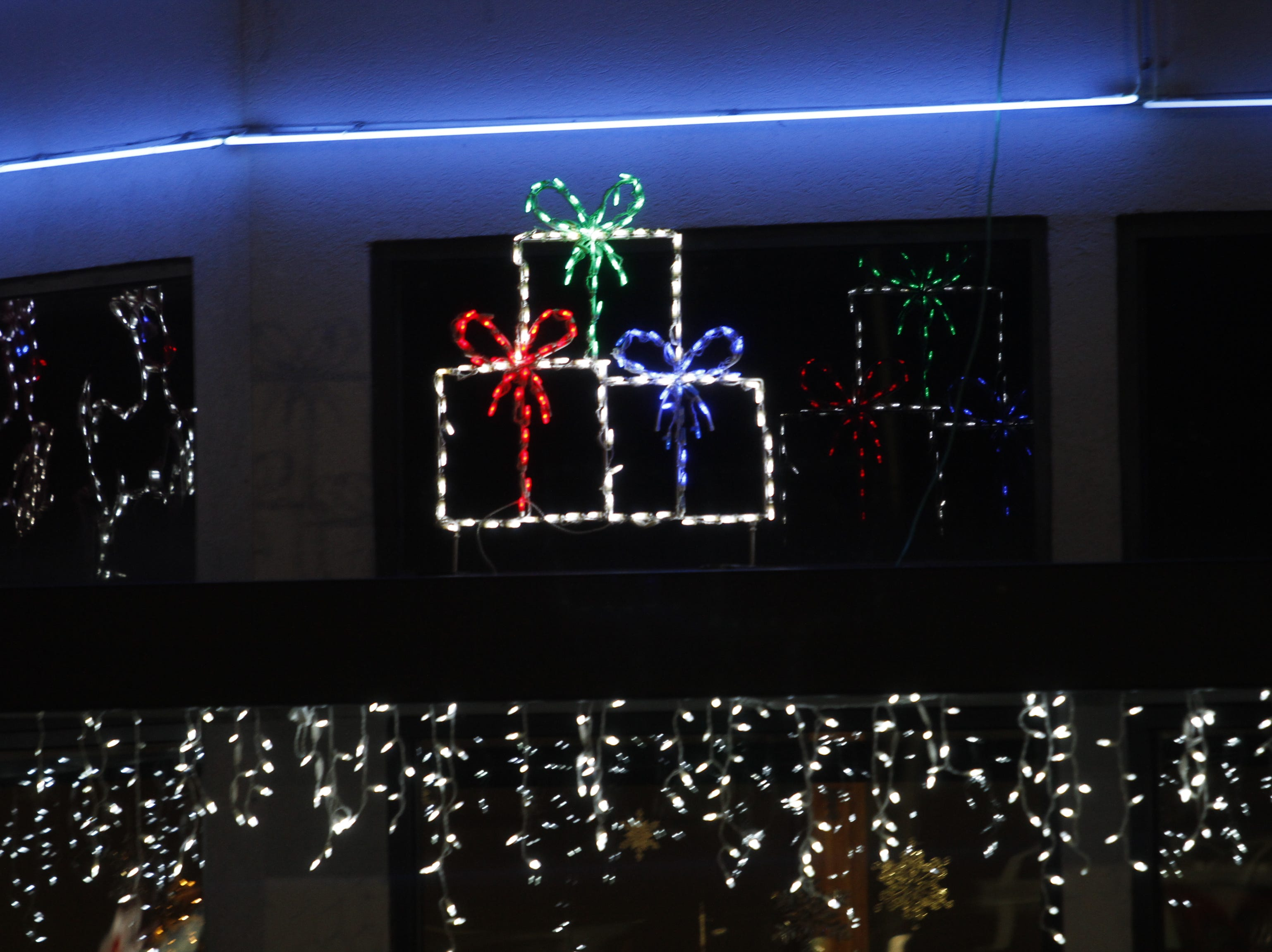 Action Air was the commercial winner in the 2018 Christmas Lighting Contest.