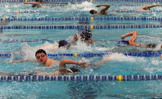 Hundreds of GMC swimmers participated in a swim event with all proceeds from the event benefiting The Marisa Tufaro Foundation.