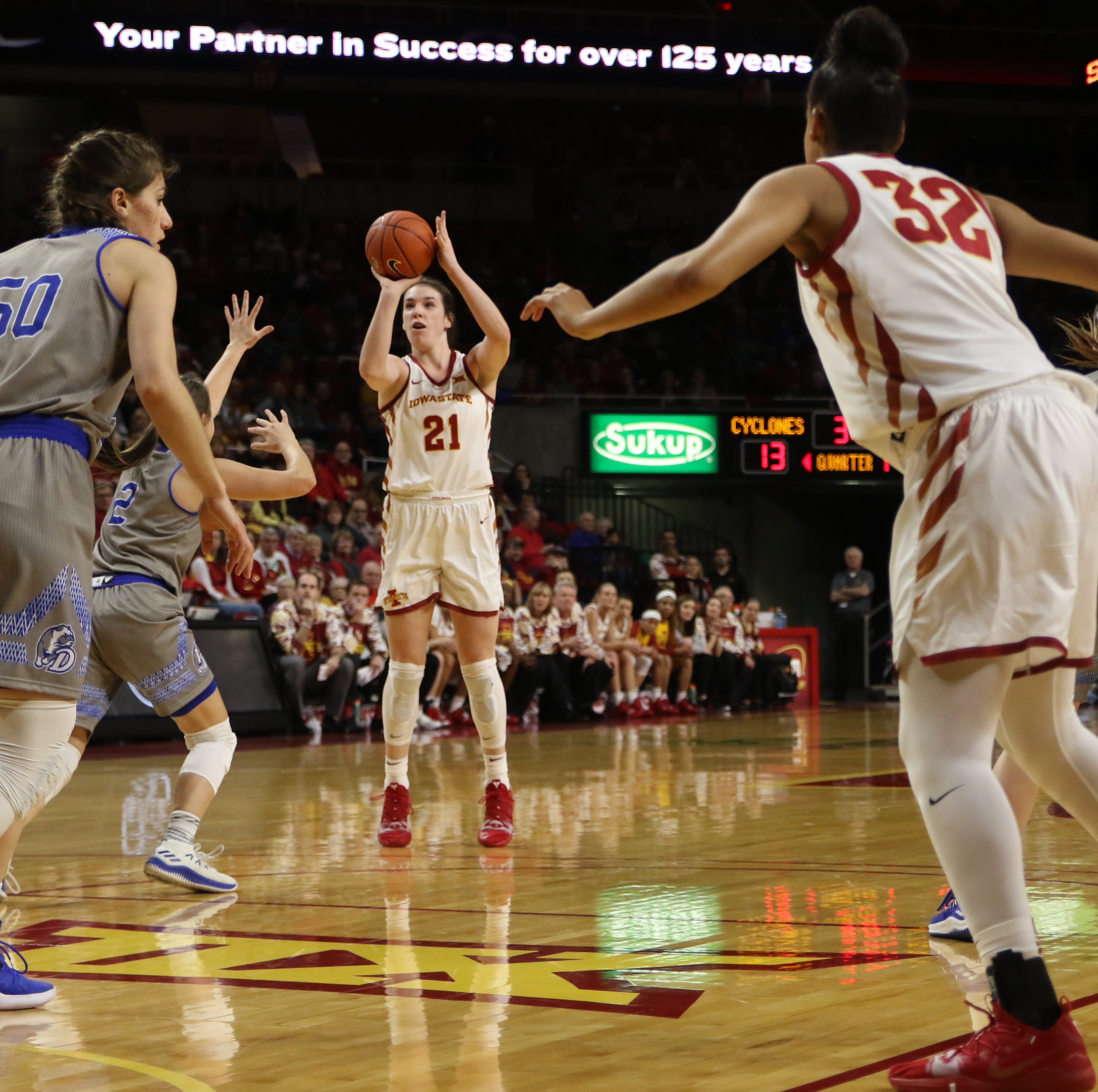 Iowa State continues dominance at home, holding off No. 25 Drake
