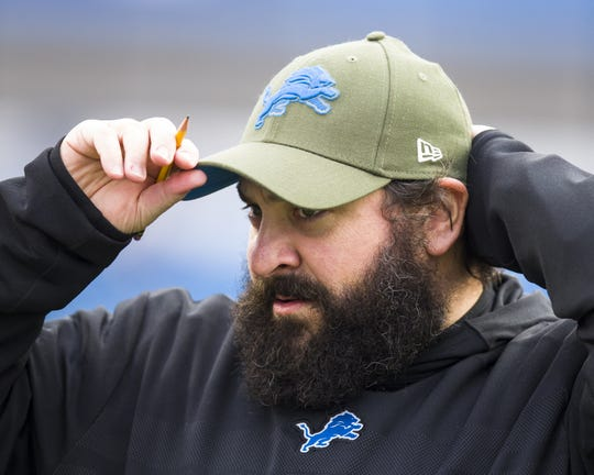 Lions coach Matt Patricia went 6-10 in Year 1.