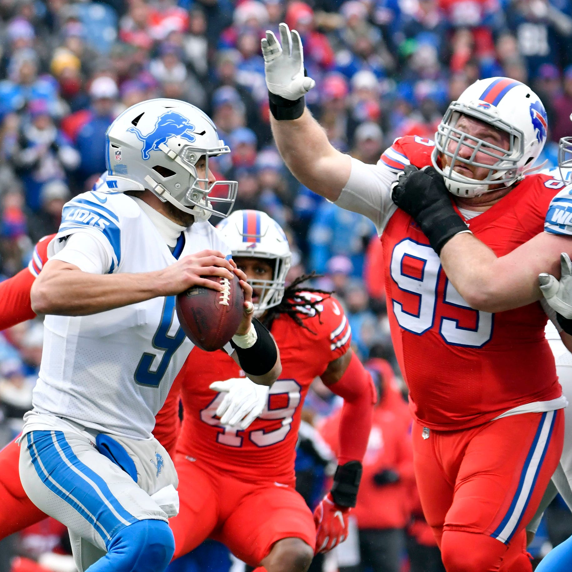 Detroit Lions fans say goodbye to season with two games left