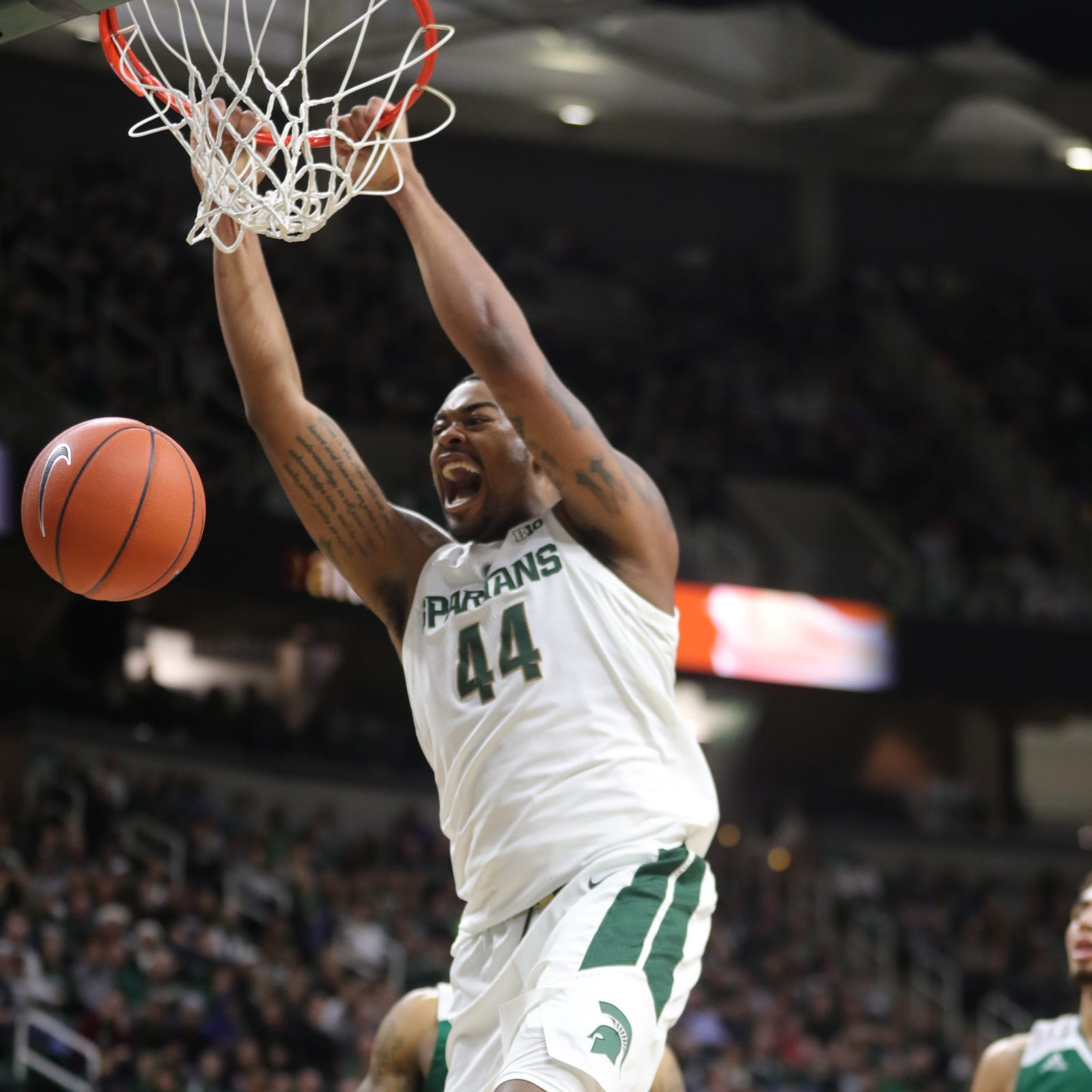 How Nick Ward turned Michigan State fast break into 'an oiled machine'