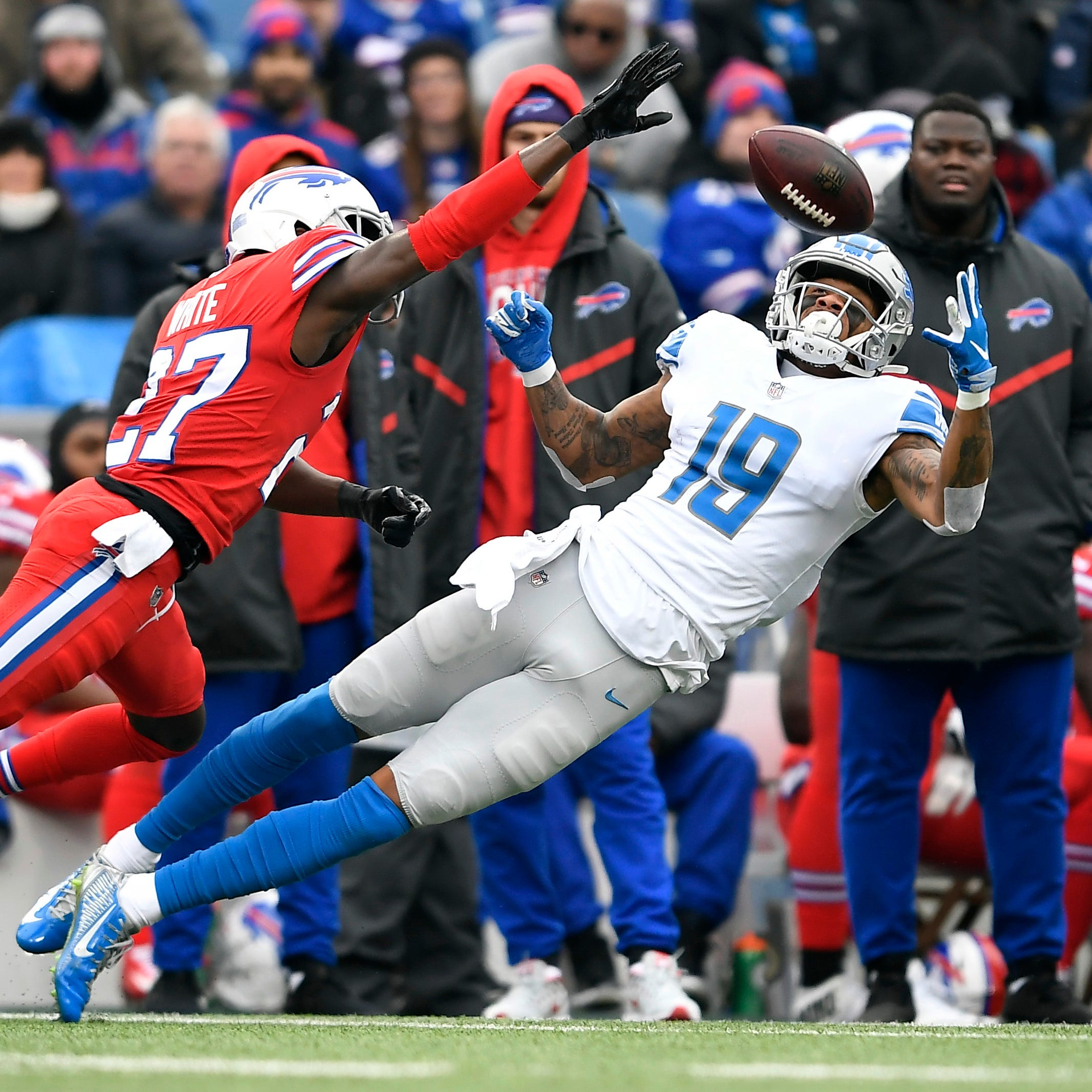 Lions WR Kenny Golladay having a breakout year: 'Now it's just me'