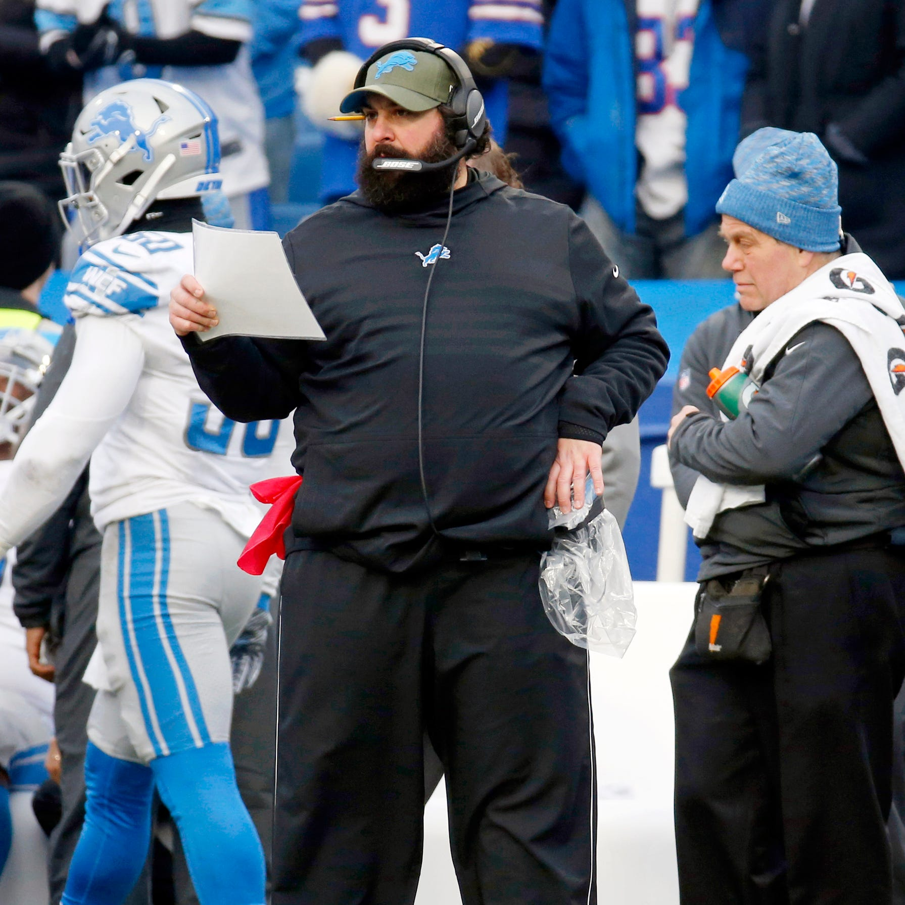 Detroit Lions' path to playoffs starts with Matt Patricia changing