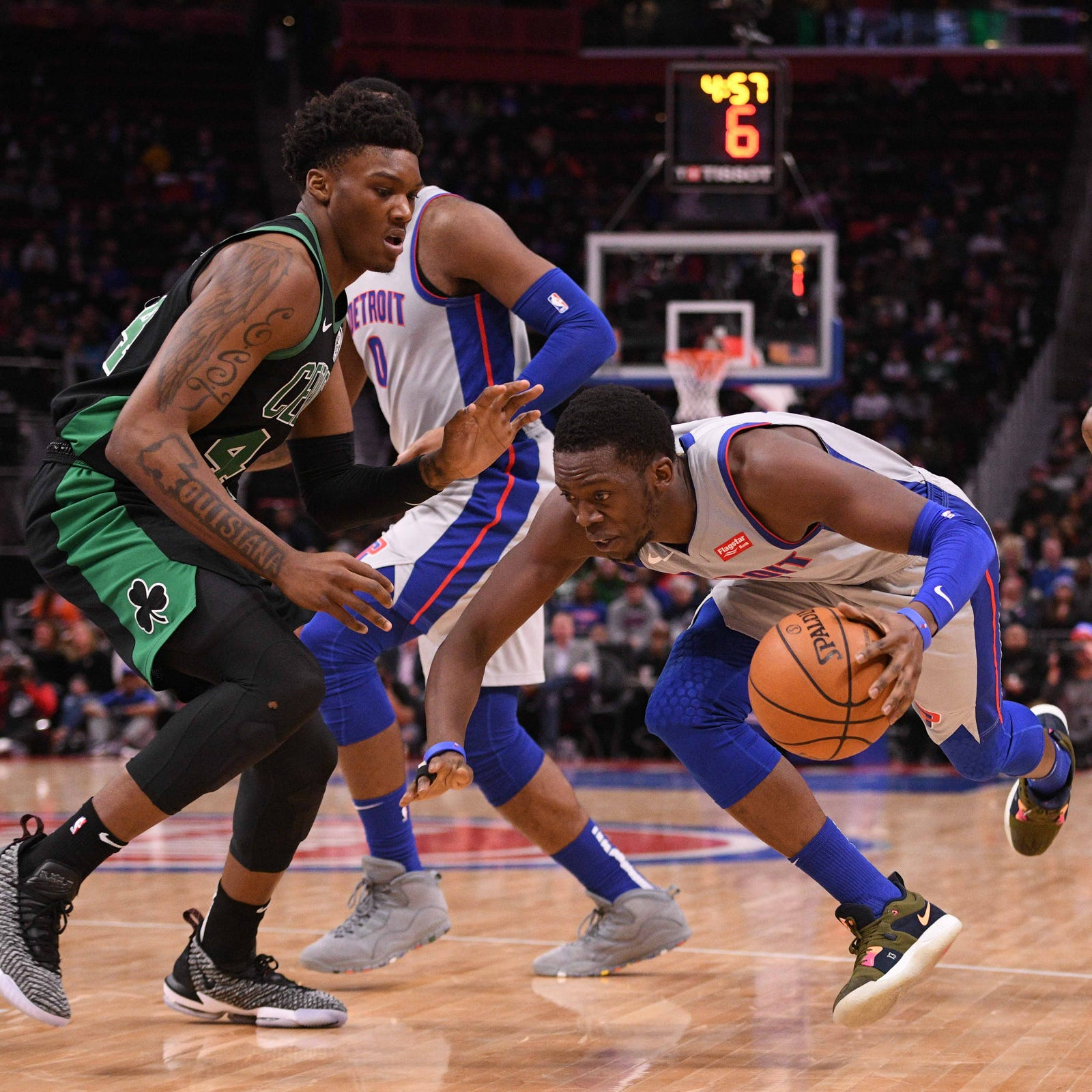 Detroit Pistons snap six-game skid with Reggie Bullock's return from injury