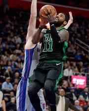 Celtics' Kyrie Irving is a natural choice for the NBA East backcourt.