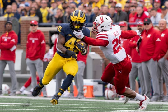 With Karan Higdon's graduation, and a few other recent departures at running back, Christian Turner could see his role grow for the Wolverines.
