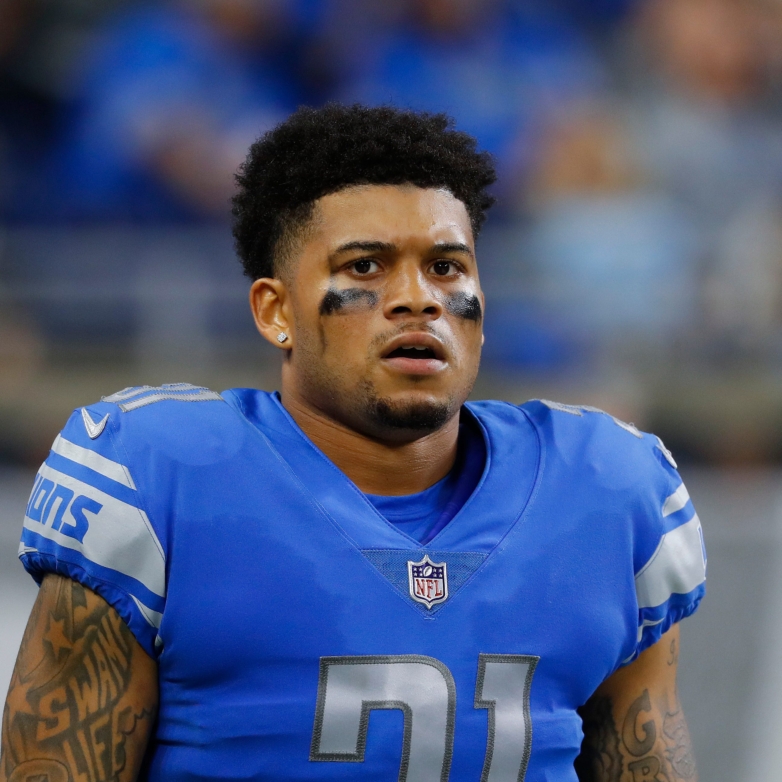 Injuries force three first-time actives for Detroit Lions