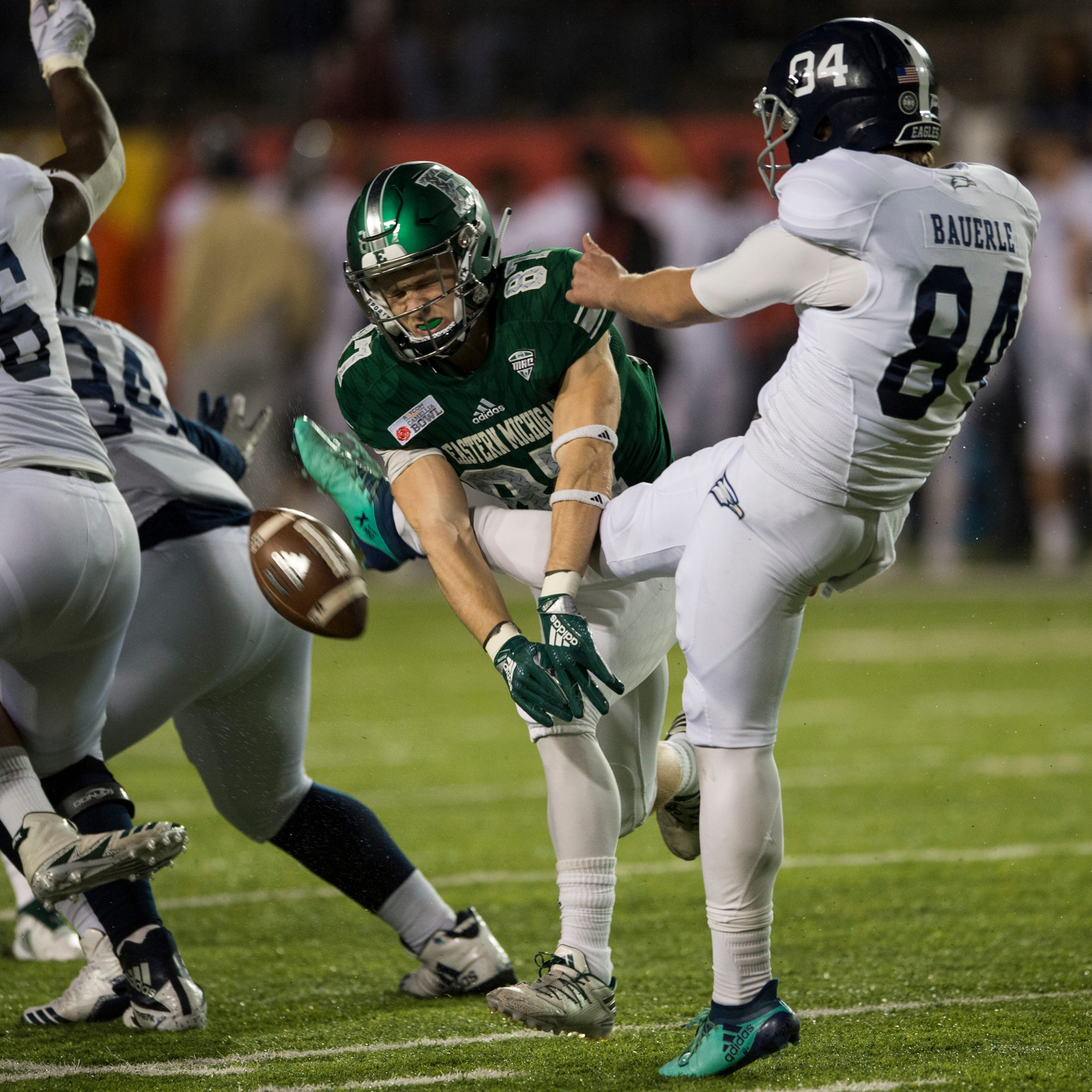 Last-second field goal trips up Eastern Michigan's bowl dreams