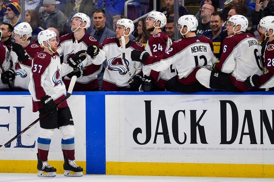 Nhl Colorado Avalanche At St Louis Blues
