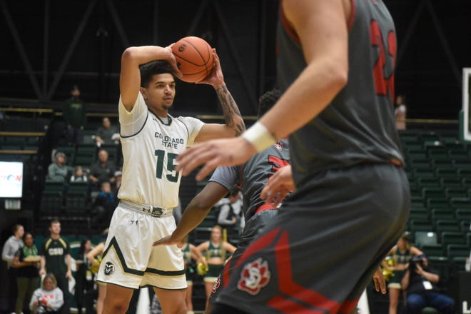 The CSU men's basketball team hosts Air Force at 7 p.m. Tuesday.