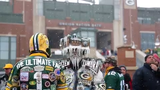 Watch Fond du Lac resident Jeff Kahlow transform into Frozen Tundra Man, which he dresses up as for December and January games at Lambeau Field.