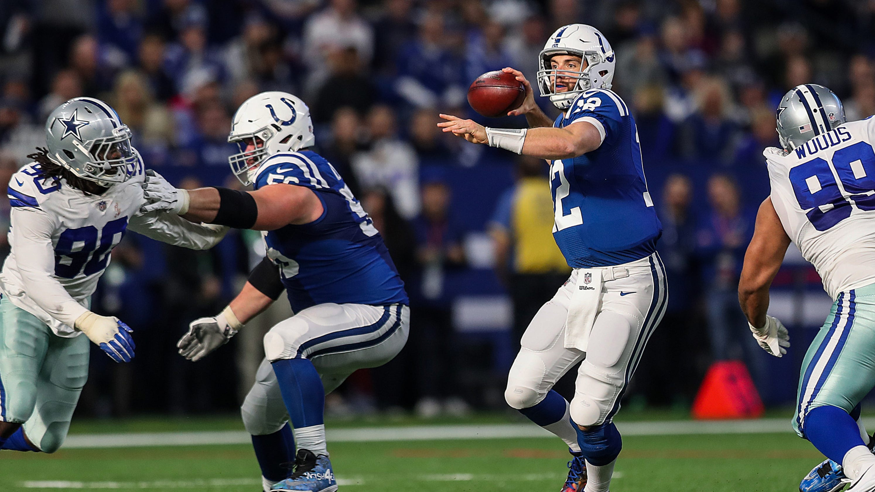 9ba599ee3 Colts dominate Cowboys 23-0 and are closing in on the playoffs
