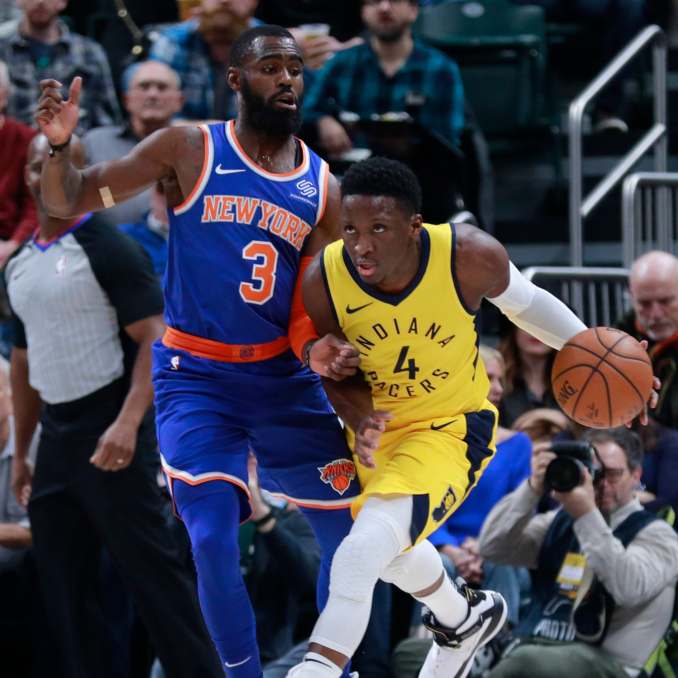 Myles Turner, Victor Oladipo close strong as Pacers earn 7th win in a row