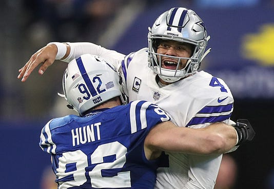 Indianapolis Colts Versus Dallas Cowboys In Nfl Week 15 At Lucas Oil Stadium In Indianapolis Sunday Dec 16 2018