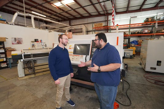 Jonathan Alonso landed his position as marketing director at  CNC Machines LLC by helping an overworked sales director